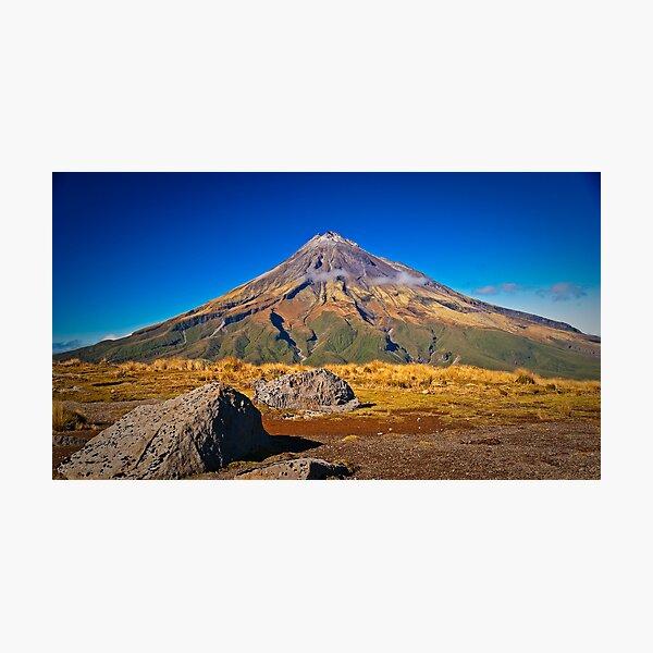 Mt Egmont, NZ Photographic Print