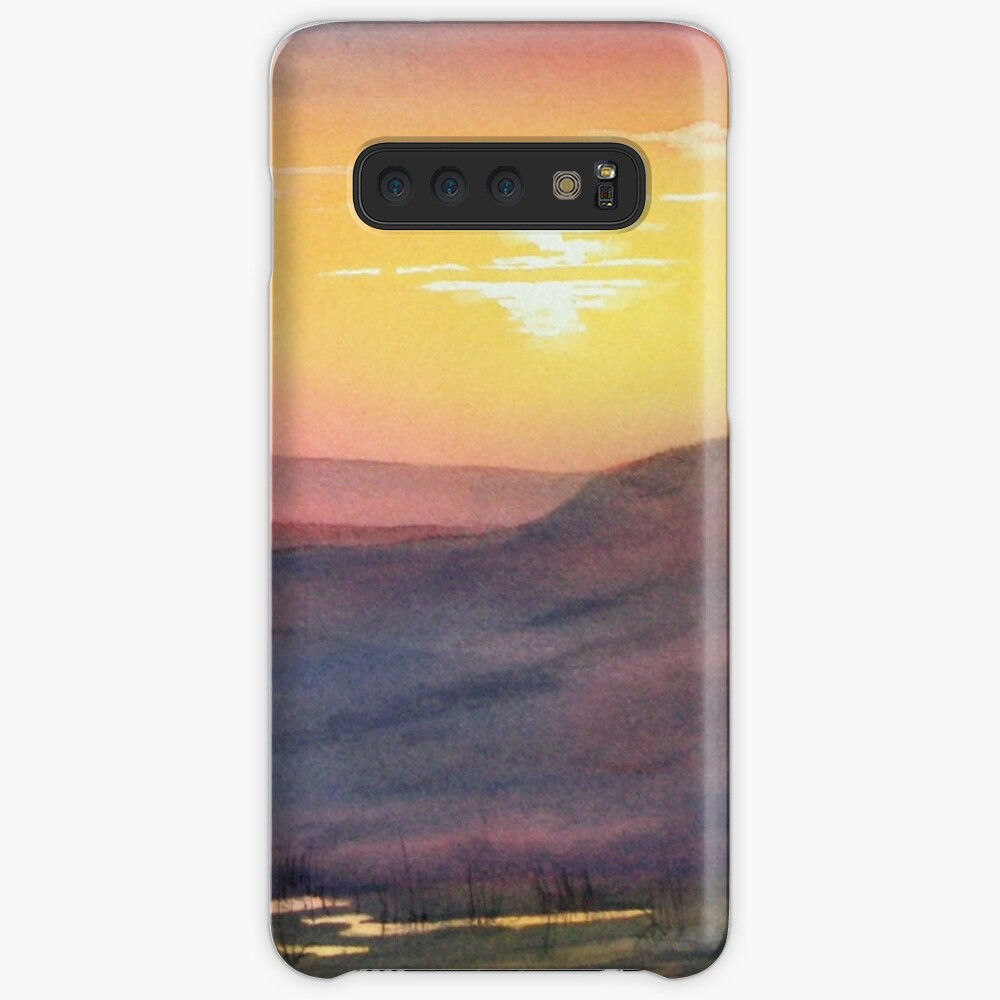 Sunset on Rosedale Head Case & Skin for Samsung Galaxy