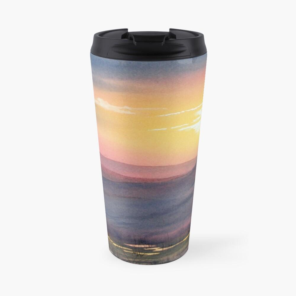 Sunset on Rosedale Head Travel Mug