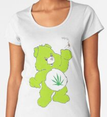 Cannabis Bear merchandise Women's Premium T-Shirt