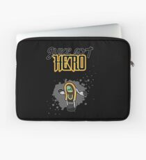 Juke Bot Hero - Splatter background Laptop Sleeve