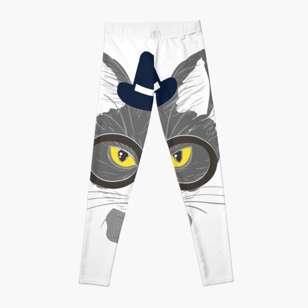 All Over Shirts Hipster Kitty Leggings