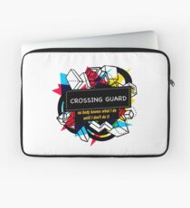 CROSSING GUARD Laptop Sleeve