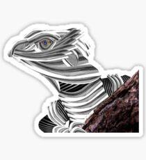 Robot Reptile Sticker