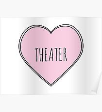 Theater Heart Poster