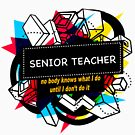 SENIOR TEACHER by charlotjacob