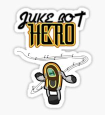 Juke Bot Hero - Musical notes variant Sticker
