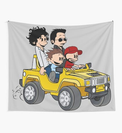 Hitting Queens Boulevard Wall Tapestry