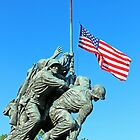 The American Flag At Half-Mast by Cora Wandel