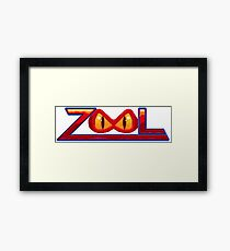 Zool - SNES Title Screen Framed Print