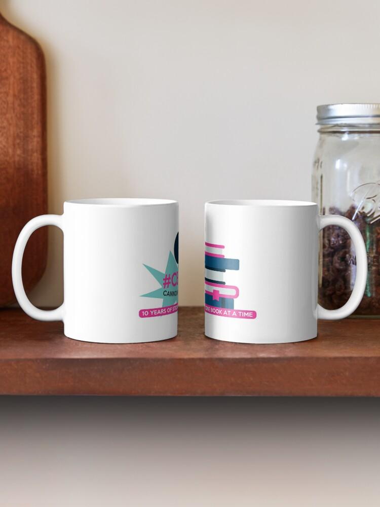 Alternate view of CBR10 Anniversary Design Mug