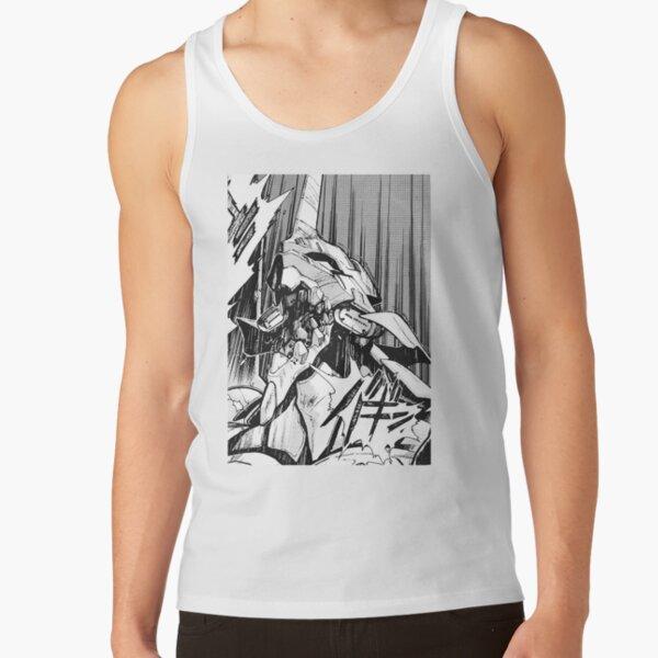 Evangelion Unidad 01 Berserk Manga Camiseta de tirantes