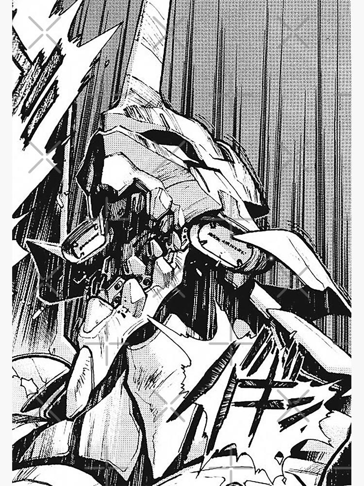 Evangelion Unit 01 Berserk Manga by willyumkdot