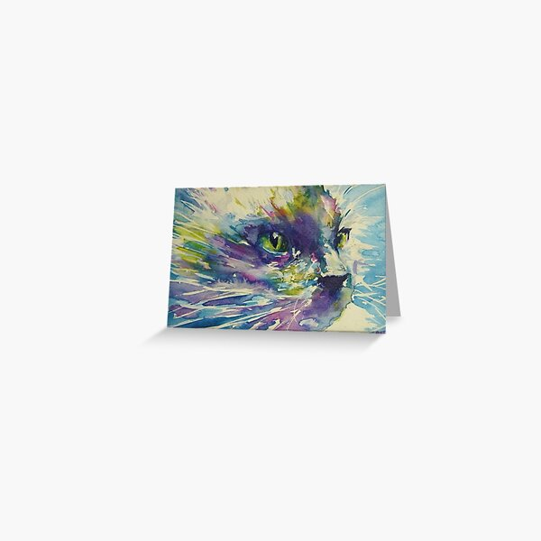 cats whiskers Greeting Card