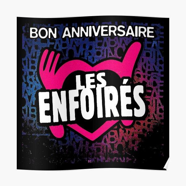 Bon Anniv Poster