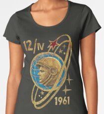 CCCP Yuri Gagarin 12-4-1961 Premium Scoop T-Shirt