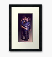 Tough (Just The Kiss) Framed Print