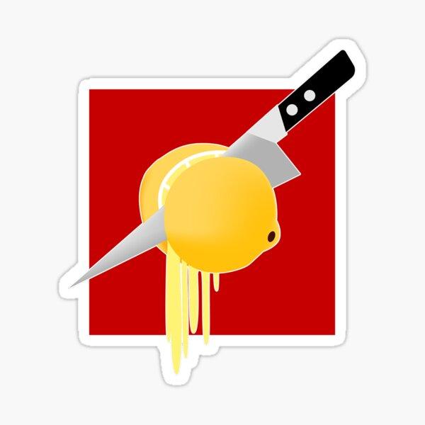 Lemon to a Knife Fight Sticker