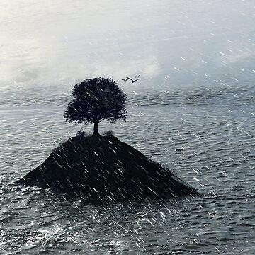 Island Rain by Globalphotos