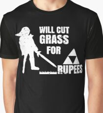Will Cut Grass For Rupees Gift  Graphic T-Shirt