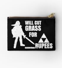 Will Cut Grass For Rupees Gift  Studio Pouch