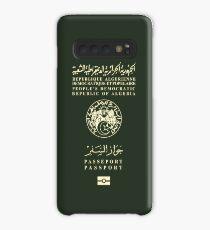 AlgerianPassport Tshirt Case/Skin for Samsung Galaxy