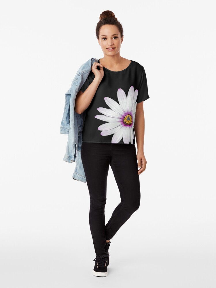 Alternate view of African Daisy Chiffon Top