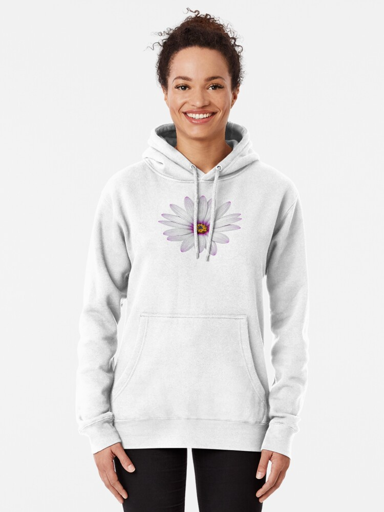 Alternate view of African Daisy Pullover Hoodie