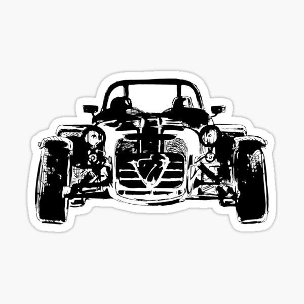 Lotus Caterham 7 British voiture de sport Sticker