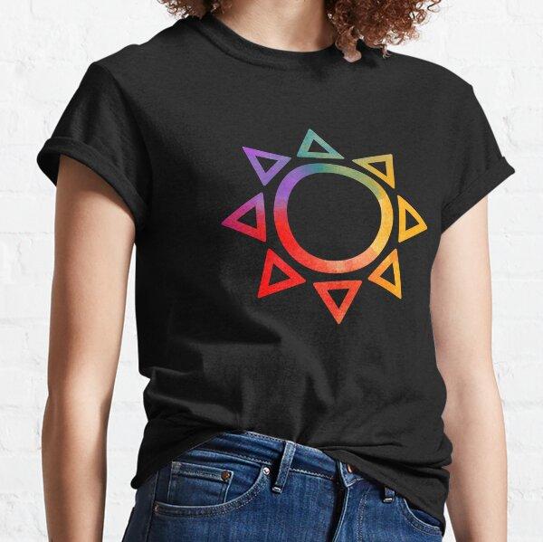 Multichromatic Sun Classic T-Shirt