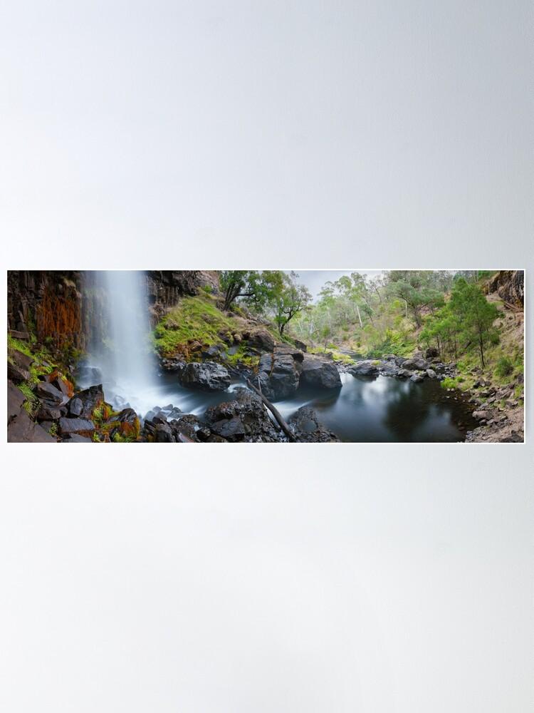 Alternate view of Paddys River Falls, Tumbarumba, New South Wales, Australia Poster