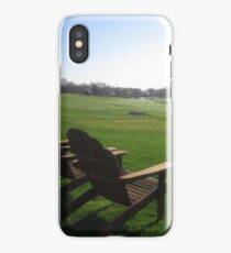 Fairway Observers iPhone Case/Skin