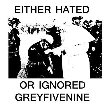 EITHER HATED OR IGNORED - GREYFIVENINE by Drehverworter59