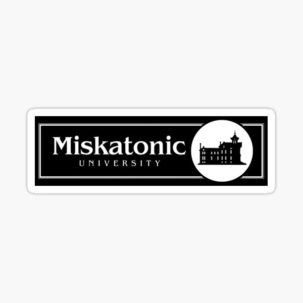 Miskatonic University - Pickman Hall Sticker