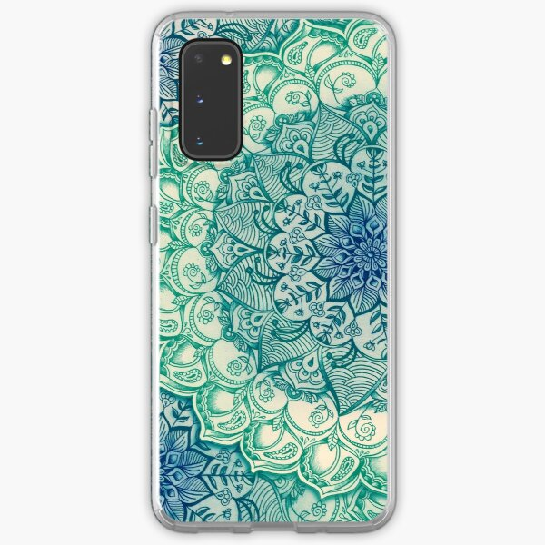 Emerald Doodle Samsung Galaxy Soft Case