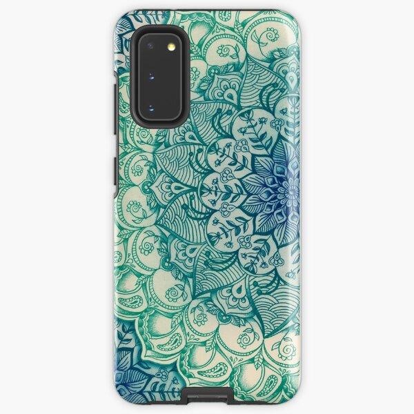 Emerald Doodle Samsung Galaxy Tough Case