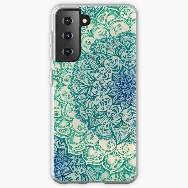 Emerald Doodle Samsung Galaxy Soft Case