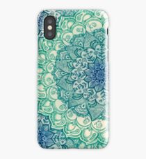 Emerald Doodle iPhone Case
