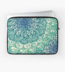 Emerald Doodle Laptop Sleeve
