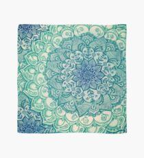Emerald Doodle Scarf