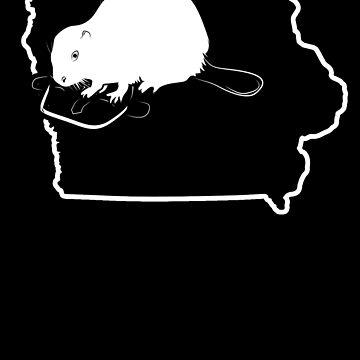 Beaver Trapping Iowa Trap For Beaver Shirt by shoppzee
