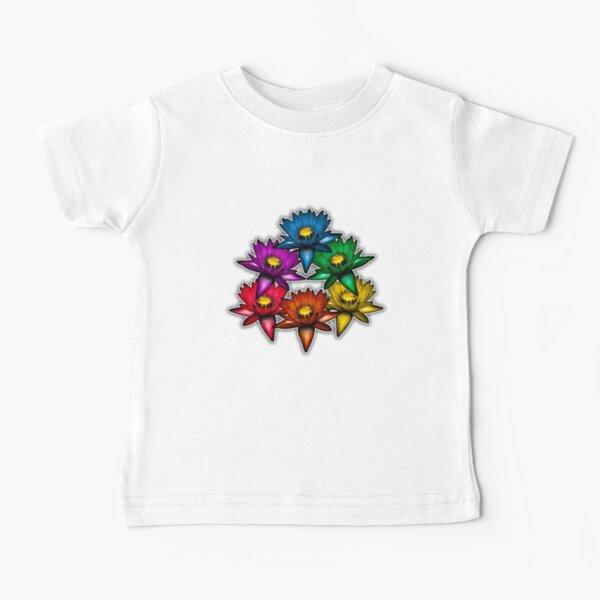 Pride Lilies Pyramid Baby T-Shirt