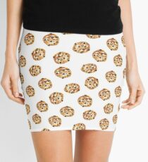 Pattern design with cookies Mini Skirt