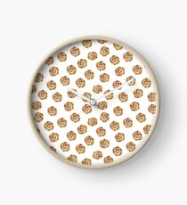 Pattern design with cookies Clock