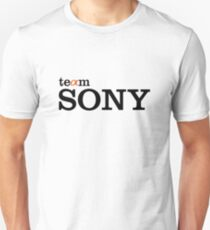 Team Sony Alpha Unisex T-Shirt