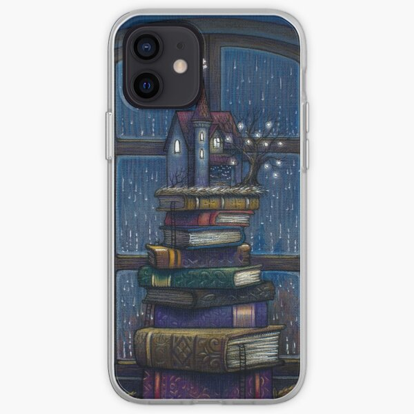 Books castle iPhone Soft Case