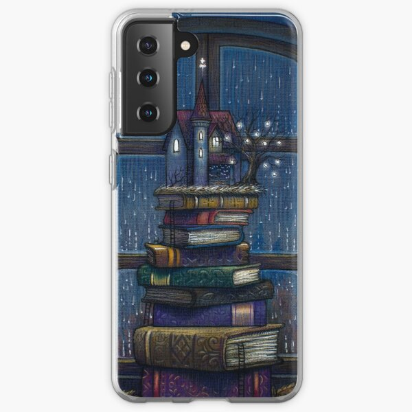 Books castle Samsung Galaxy Soft Case