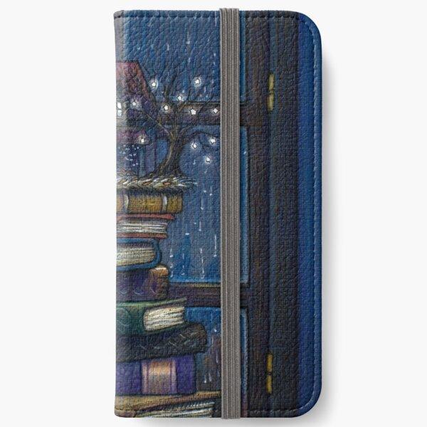 Books castle iPhone Wallet