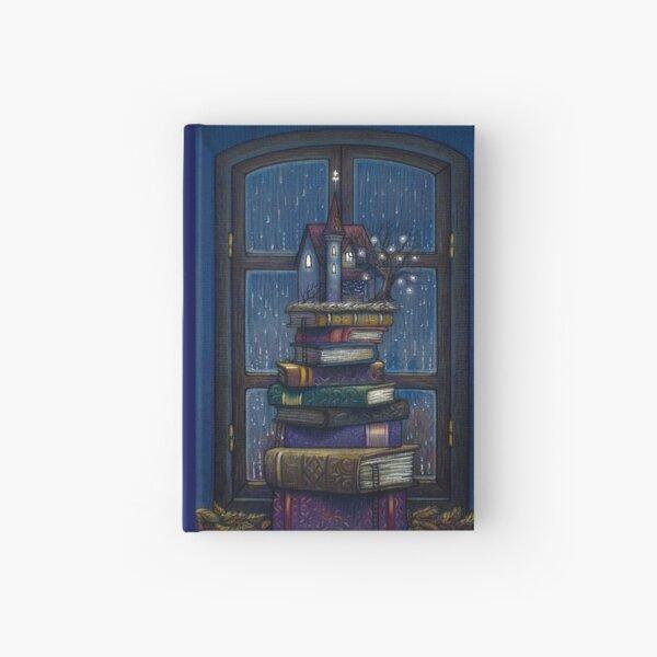 Books castle Hardcover Journal