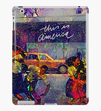 Abstract This Is America iPad Case/Skin
